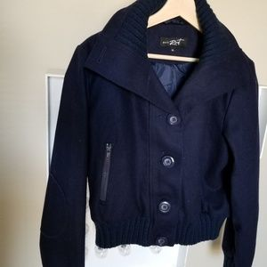 New without tags recycled wool blend bomber